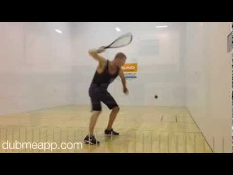 Rocky Carson: Racquetball Forehand Drills