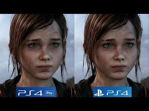 [4K/60FPS] The Last of Us: PS4 vs PS4 Pro 4K vs PS4 Pro 1080p