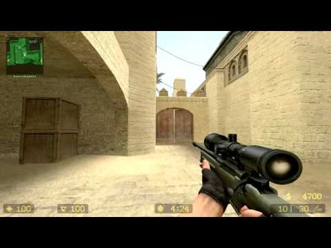 Обучение игре на миксах. de_dust 2