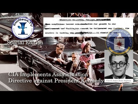 50 years ago CIA implemented assassination directive against President Kennedy