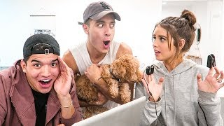WIFE TAKES LIE DETECTOR TEST!! (feat. Alex Wassabi & LaurDIY)