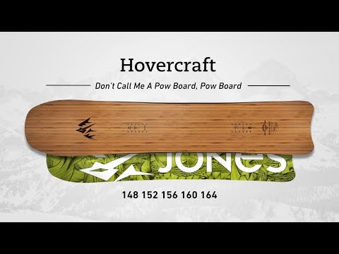 Jones Hovercraft Snowboard 156