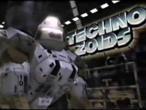 1994 Techno Zoids commercial