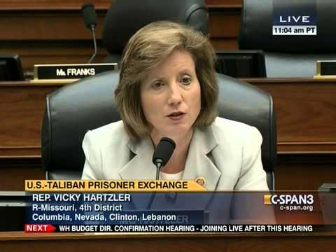 Hartzler questions Secretary of Defense Chuck Hagel on Bergdahl swap
