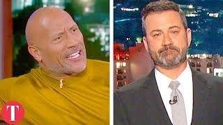 10 Celebs Who Insulted Jimmy Kimmel ON Jimmy Kimmel