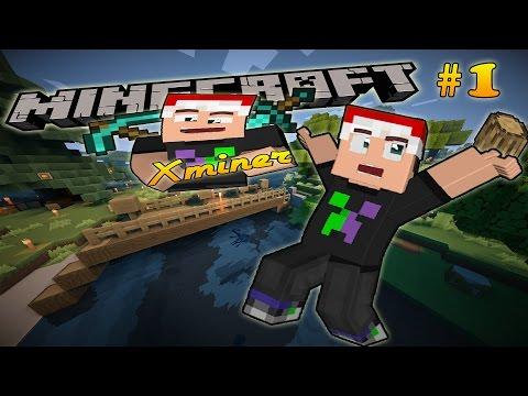 Minecraft Tập Đoàn Sinh Tồn - Tập 1: NGƯỜI HÀNG XÓM MỚI (Server Xminer)