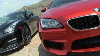 2014 Nissan GT-R Vs BMW M6 0-60 MPH Mile High Mashup Test