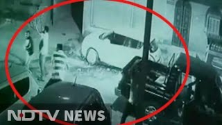 Caught on CCTV: Jodhpur gang war with cars smashed, bullets fired