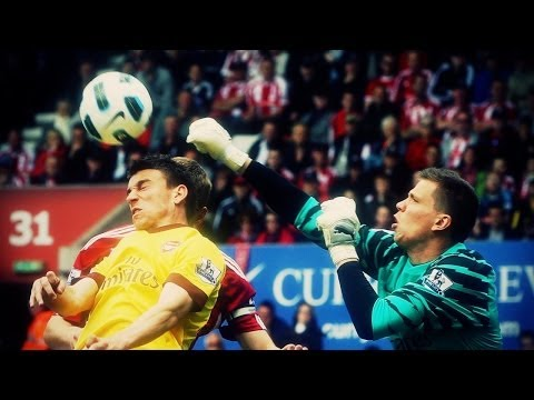 Wojciech Szczęsny - The Hero of Arsenal | Polish Goalkeeper | HD