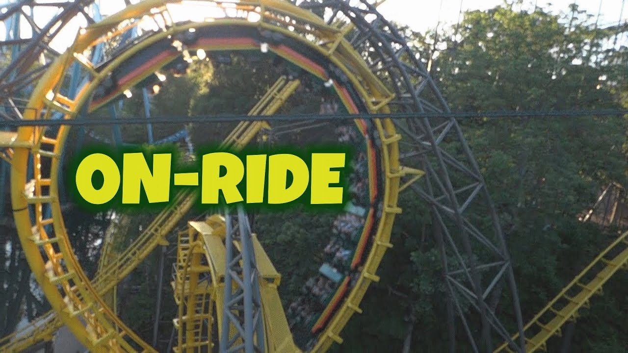 Aeronaut Skyride On Ride Hd Pov Busch Gardens