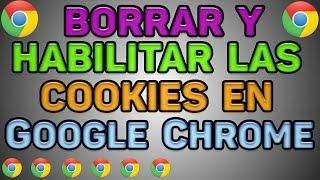 Como habilitar las cookies en Google Chrome
