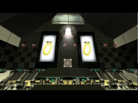 Геймер сделал девушке предложение в Portal 2