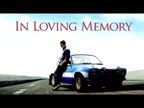 Thumbnail image for 'A Tribute to Paul Walker'
