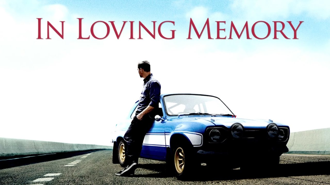 A Tribute To Paul Walker :) RIP Paul Will Miss You :)