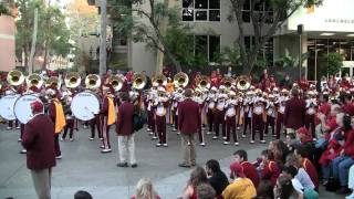 USC Band Plays 'Brooklyn'