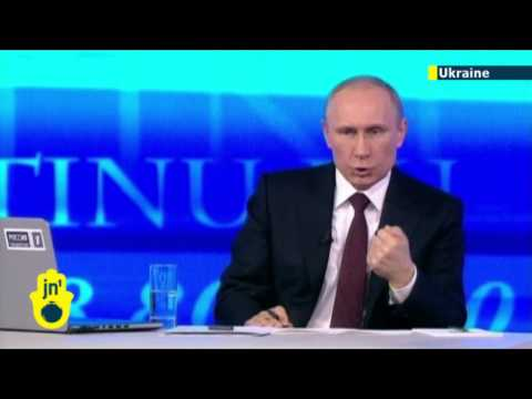 Putin Admits Crimea Lies: Kremlin leader concedes Russian troops DID invade Ukrainian peninsula