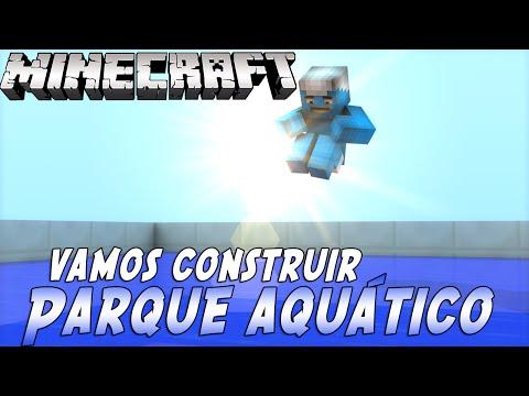 Minecraft: Vamos Construir - Parque Aquático ft.Inscritos