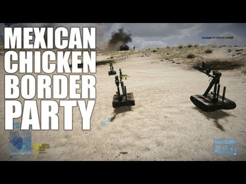 Mexican Chicken Border Party