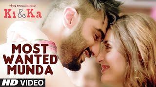most wanted munda song, ki and ka movie, kareena kapoor, arjun kapoor