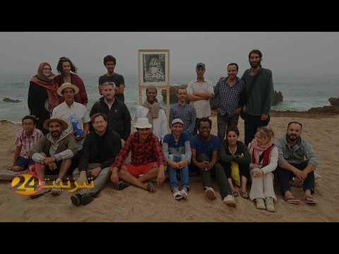 معرض فني بمغارة الصيادين باكلو
