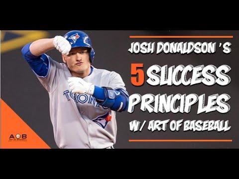 Josh Donaldson Baseball Tips: 5 Baseball Success Principles.