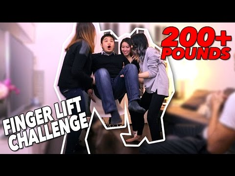 FINGER LIFT CHALLENGE! IMPOSSIBLE?! 😱 (ALSO EXPLAINED)