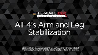 """All-4s"" Arm & Leg Stabilization"