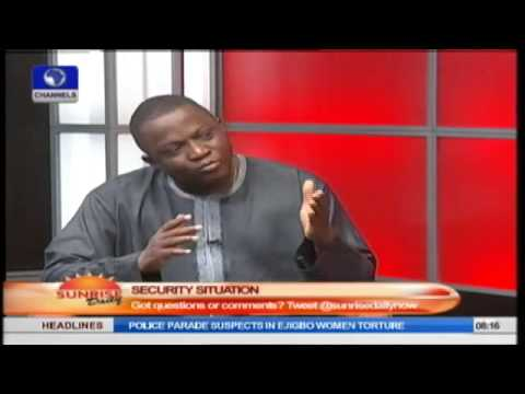 Sunrise Daily: John Oloyede Speaks On The Security Situation In Nigeria PT2