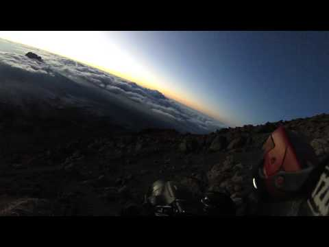 Mount Kilimanjaro Summit Day: Dawn to Sunrise (Head Cam)