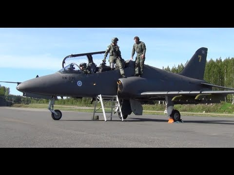 Finnish Air Force-hawk sound