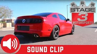 2011-2014 Mustang GT 5.0L SOLO Performance Cat Back