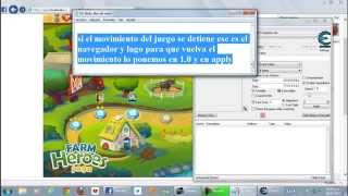 HACK DE MOVIMIENTOS EN FARM HEROES SAGA