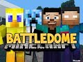 Minecraft: BATTLEDOME! Part 2 w/ NoahCraftFTW, TazReese & Choco!