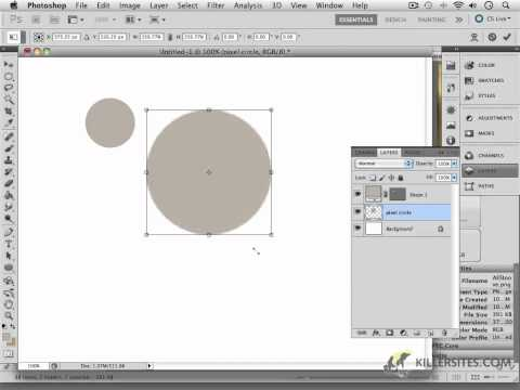 Photoshop CS5 - Intro to Vector Tools