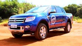 Avaliação Ford Ranger Limited AT6 3.2 Diesel 2013 (Canal