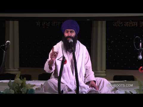 "Bhai Sukha Singh (UK) - ""ਆਸ: Trust in God"" (Day 2 of 3) - Katha in English & Punjabi"
