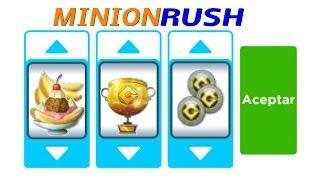 Nuevos Códigos Para MINION RUSH 2014 +20fichas