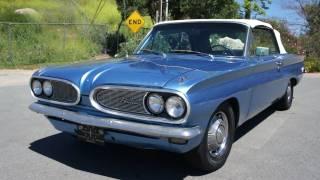 1962 Pontiac Tempest Lemans Convertible pre GTO