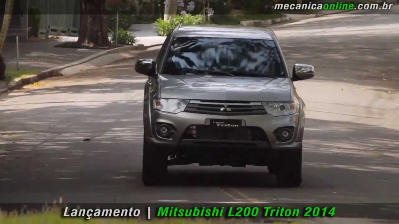 Mitsubishi L200 Triton 2014 - YouTube