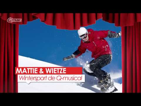 Wintersport de Q-musical // Mattie & Wietze @ Q-music