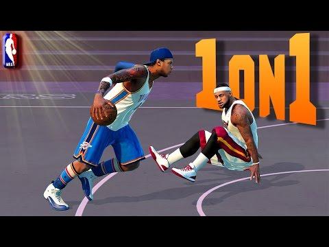 LeBRON JAMES Gets His ANKLES BROKEN - NBA 2K16 1on1 #5