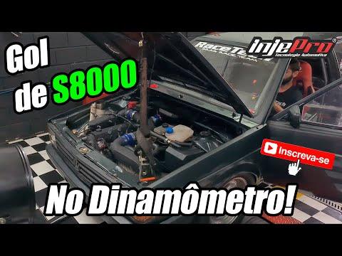 Gol Turbo no Dinamômetro - INJEPRO