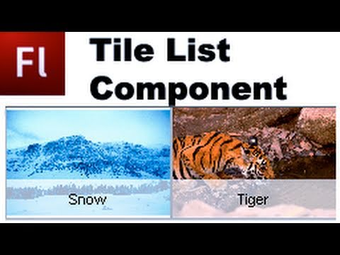 Flash Tutorial: The Tile List Component  -HD