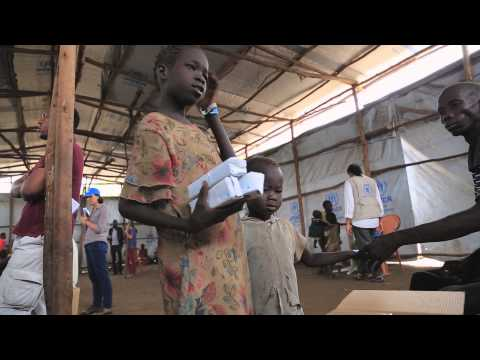 South Sudan: UNHCR and WFP Visit
