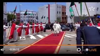 شاهد بالفيديو   لحظة وصول الملك محمد السادس إلى مسجد الإخلاص لأداء صلاة الجمعة        قنوات أخرى