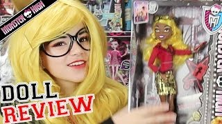 Monster High Clawdia Wolf Doll Review KittiesMama
