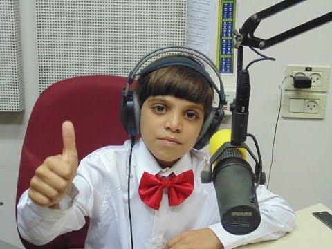 نحف راديو صوت إسرائيل يستضيف الطالب النحفاوي رواد زاهي سرحان