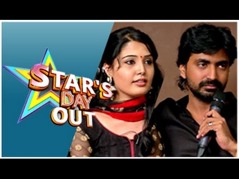 Actress Sandra in Stars Day Out (10/01/2015)
