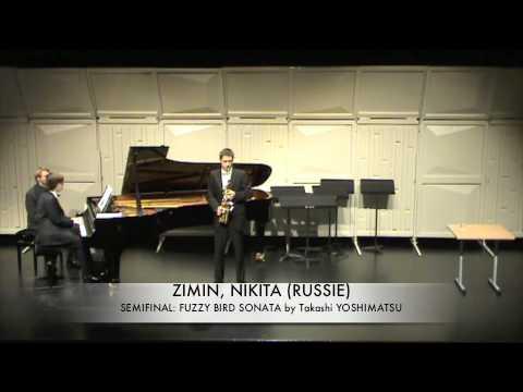 ZIMIN, NIKITA (RUSSIE) fuzzy bird Sonata by T. Yoshimatsu