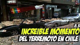 INCREÍBLE Momento Del Terremoto En Chile, Arica & Perú